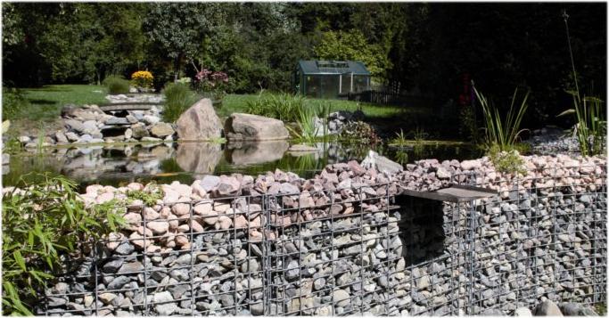 Le Gabion Ou Comment Décorer Son Jardin Avec Des Pierres Et